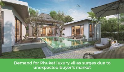 Augmentation des demandes pour l'immobilier de luxe à Phuket en 2021