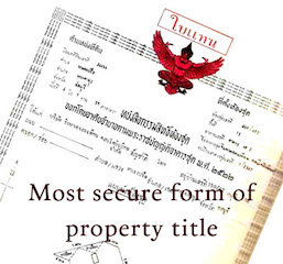 Photo Thailand buying property guide for foreigners