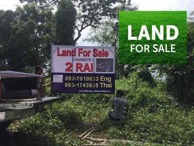Land for sale in Phuket, Thailand .