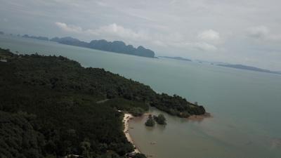 Photo ที่ดินสำหรับขายพร้อมวิวทิวทัศน์ของทะเลที่ จังหวัด พังงา