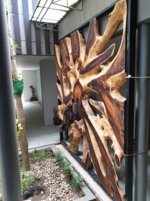 Phuket teak furnishings and decoration