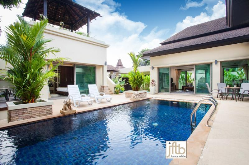 Picture Phuket Luxury Pool Villa For Sale in layan at Botanica Villas