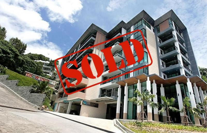 Picture Patong beach modern apartment with sea and mountain views for sale for sale - Phuket