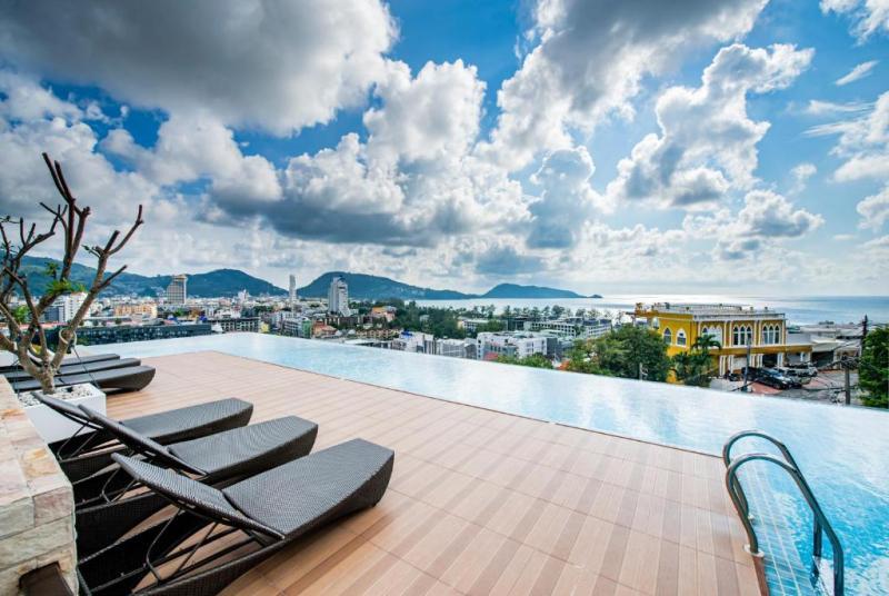 Photo Appartement moderne avec 1 chambre à vendre à The Unity Patong