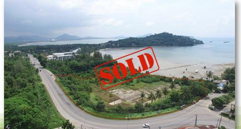 Picture Phuket-Beachfront land for sale in Panwa