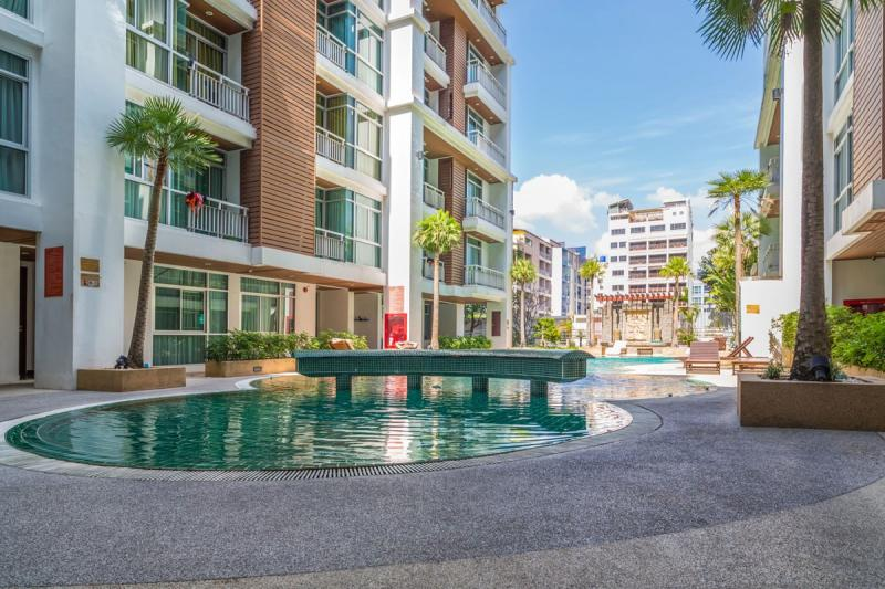 Picture Modern 2 bedroom apartment for sale in the residence Art Patong