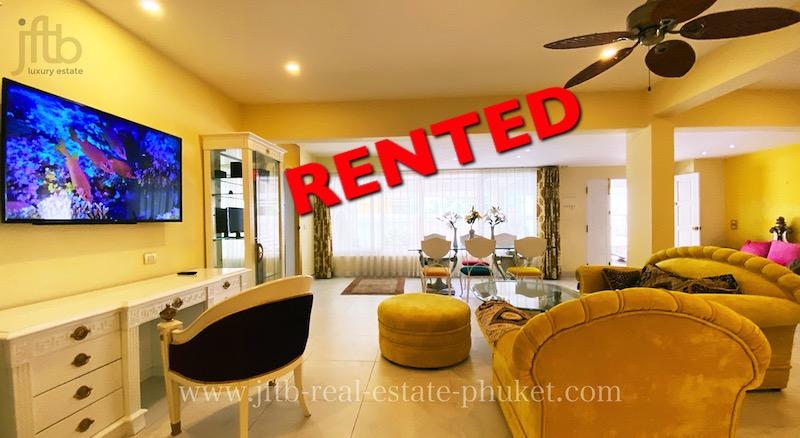 Photo Appartement de 2 chambres avec accès direct piscine à louer à Patong, Phuket
