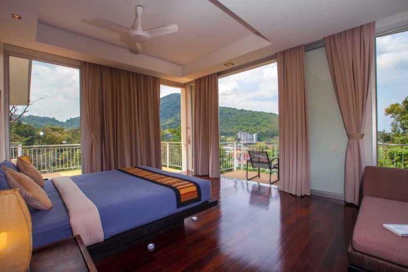รูปภาพ 3 Bedroom Sea View Pool Villa สำหรับขายในกมลา