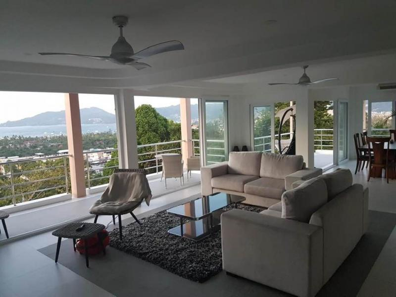 Picture 3 Bedroom Penthouse with Sea View for sale at Diamond Condominium in Patong