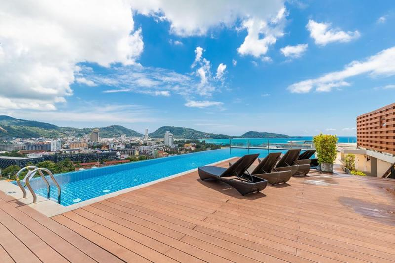 Picture Patong beach modern sea view apartment for sale - Phuket