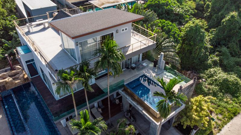 Picture Phuket 8 bedroom Sea View Villa for Sale in Rawai