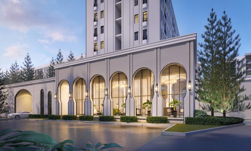Photo Un nouveau projet de condominiums classiques de luxe à Asoke, Bangkok