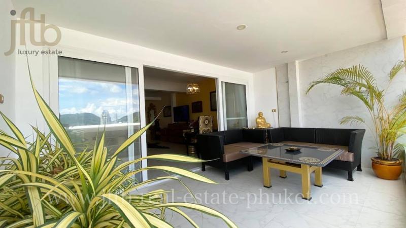 Photo Suite avec vue Mer à louer à Patong, près de Patong Beach, Phuket