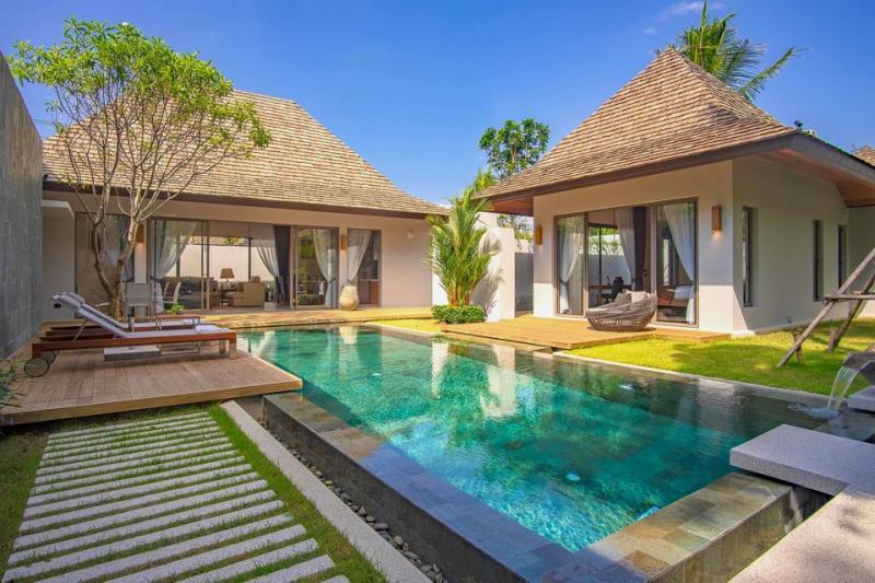 图片新建成的豪华顶级品质 3 卧室泳池别墅在 CherngTalay