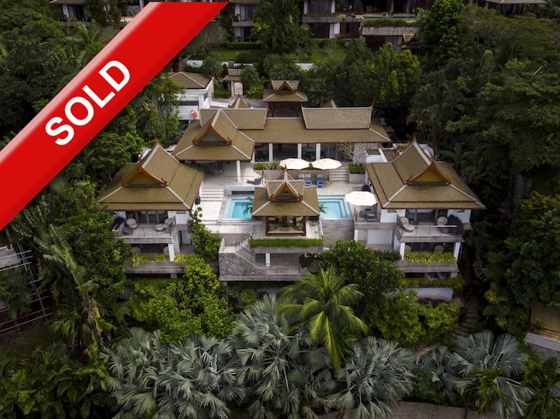 Photo Ayara Surin: Villa exclusive avec vue sur l'océan à vendre