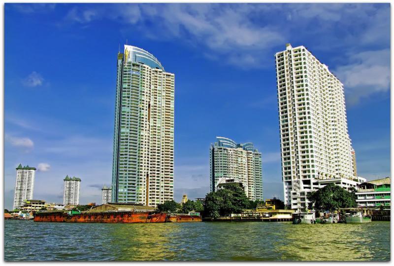 Photo Appartement de standing 4 chambres à vendre à la résidence WaterMark, Bangkok, Thaïlande