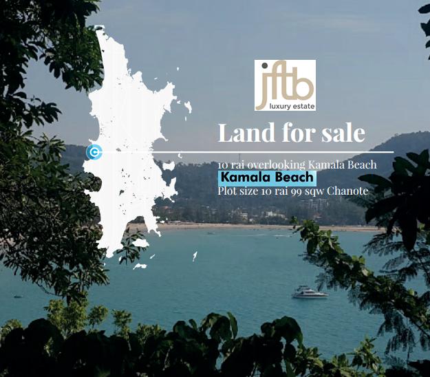 Photo Terrain en front de mer à vendre sur la plage de Kamala