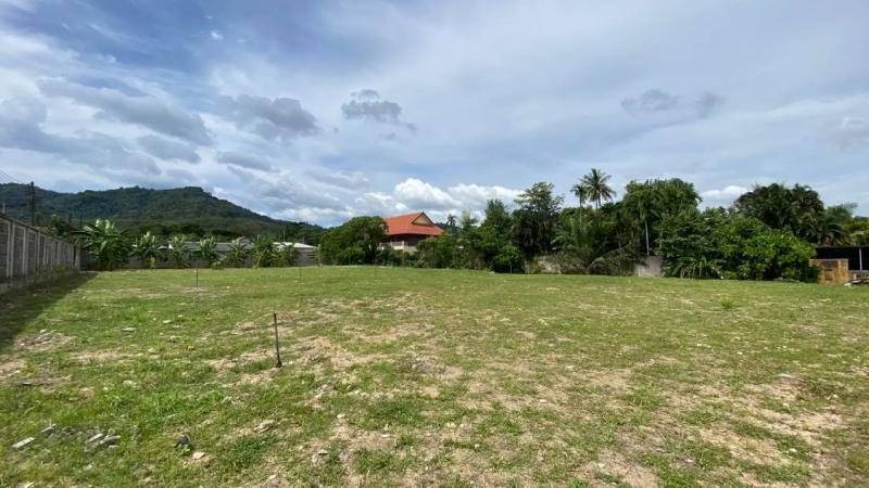 Picture Plot with a size of 1893 Sqm for sale in a residential area of Rawai