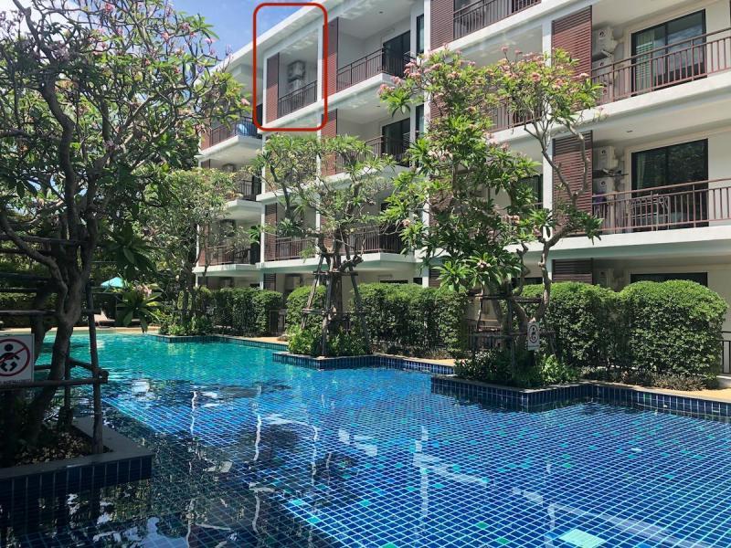 Photo Top appartement avec 1 chambre à vendre en face de la plage de Rawai