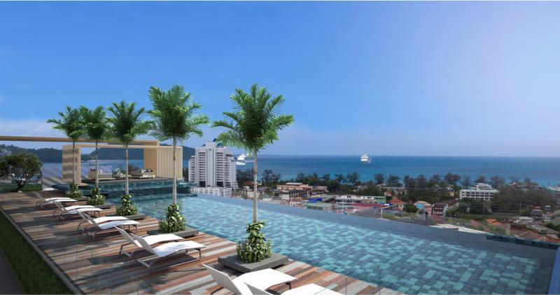 Photo Luxueux appartements neufs à vendre près de la plage de Patong offrant 7% de retour locatif durant 15 ans