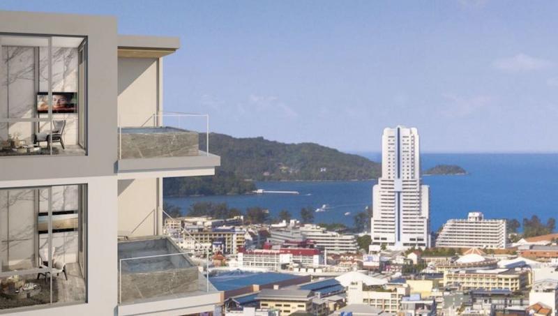Photo Nouveaux appartements de luxe avec vue sur la mer à vendre à Patong, Phuket
