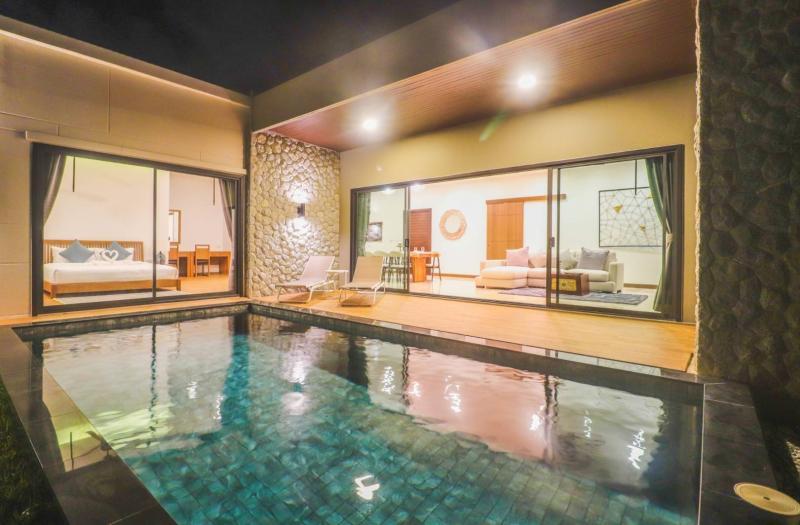Photo Villa neuve avec piscine à louer ou à vendre à Chalong, Phuket