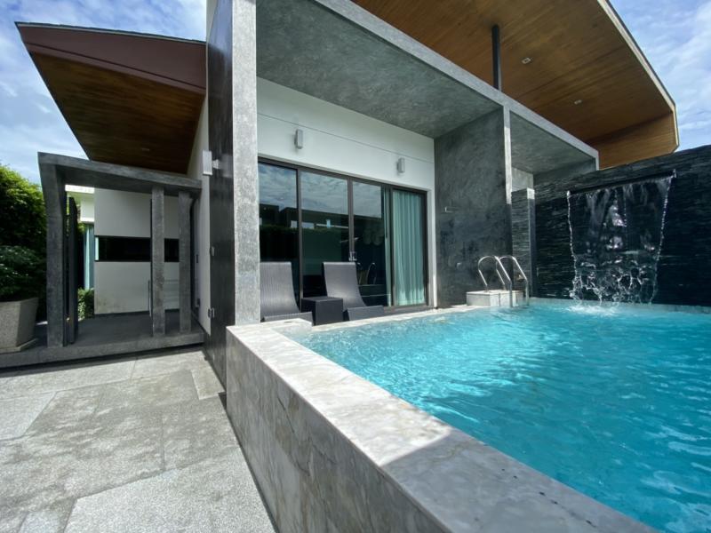 Photo Villa moderne de 2 chambres et piscine avec un prix de location très accessible à chalong