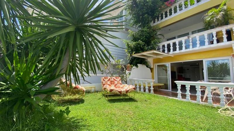 Picture Sea View Studio Apartment with Garden for Rent in Patong Beach, Phuket