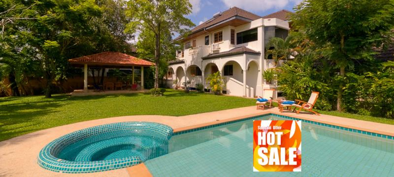 Picture 5 bedroom pool Colonial house for sale in Chalong, Phuket