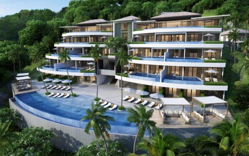 Picture Top Sea View 4 bedroom Penthouse for Sale in Surin Beach