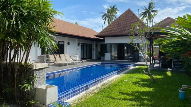 Photo Villa exotique avec piscine à Rawai avec 4 chambres