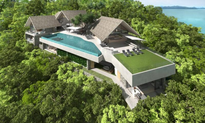 Picture Exclusive villas for sale in the extraordinary headland of Cape Yamu