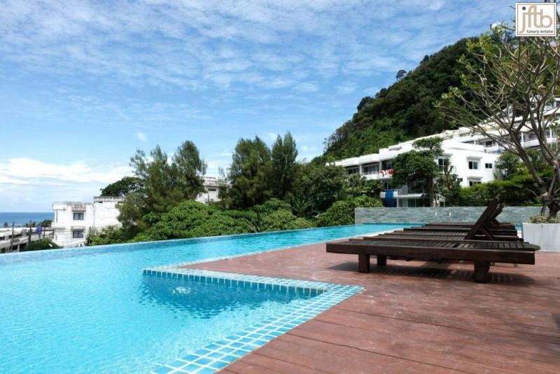 Picture Patong Studio apartment to rent with pool and gym