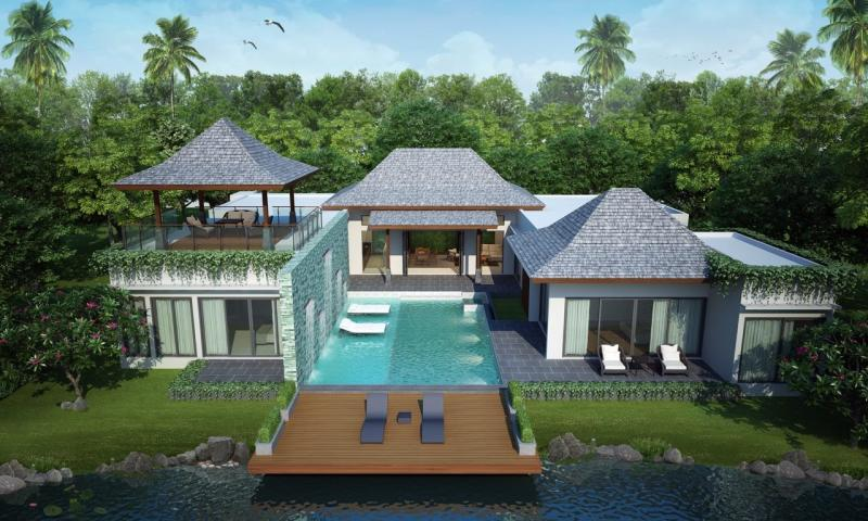 Picture Brand New Exclusive 4+1 Bedroom Villa for Sale in Cherngtalay, Phuket