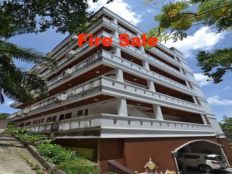 Photo Prix imbattable: 2 appartements avec vue mer à vendre à Patong