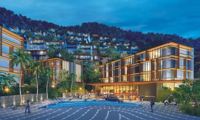 Photo Investissement dans de nouveaux appartements de luxe avec vue sur la mer à Kamala, Phuket