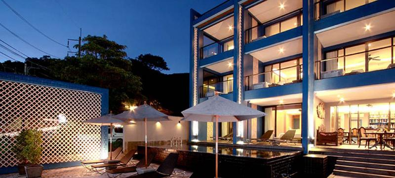 Picture Patong, Kalim Beachfront 18 bedroom hotel for lease, Phuket