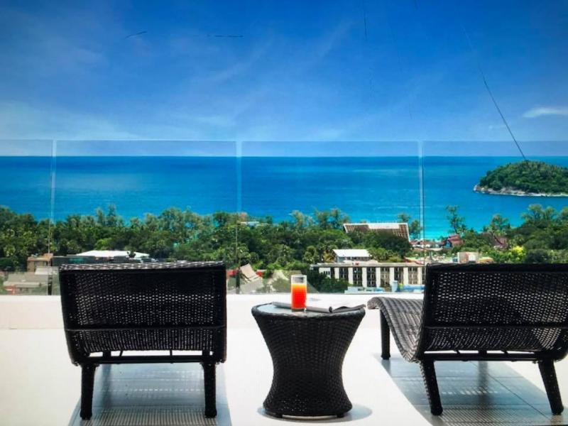 Photo Kata luxueux appartement de 2 chambres à vendre avec vue panoramique sur la mer