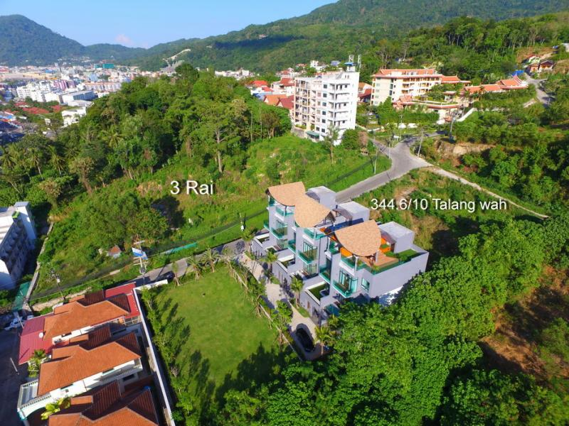 Picture Patong Beach land for sale - 3 Rai - 4800 m2