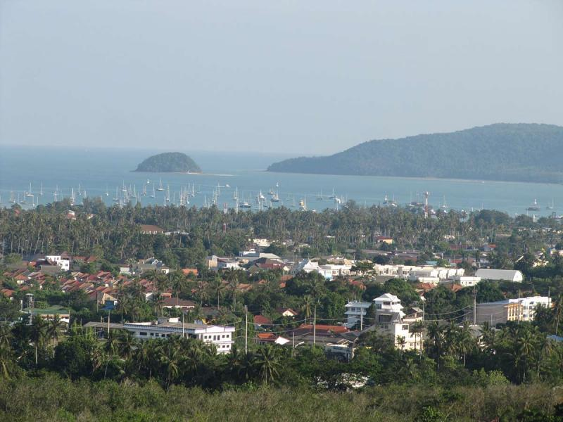 Picture 3200 Sqm of sea view land for sale in Chalong