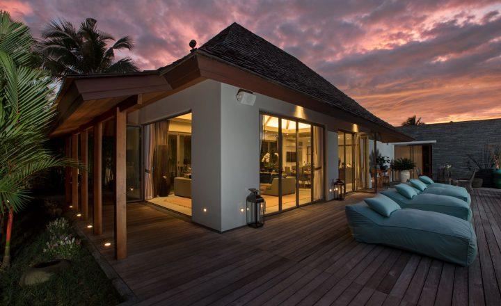Photo Villa de luxe de 3 chambres avec piscine à vendre à Anchan Lagoon, Layan