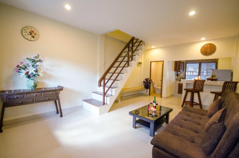 Photo Appartement en duplex avec 1 chambre à louer à Rawai, Phuket, Thailande