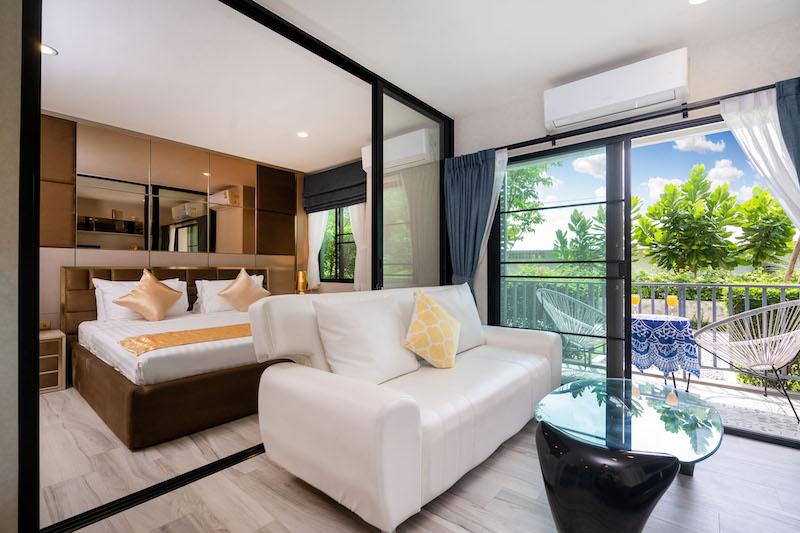 图片 1 卧室公寓出售于 The Title Residencies (Nai Yang Beach)