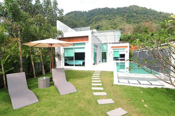Photo Villa de luxe avec 2 et 3 chambres avec piscine à Kamala, Phuket