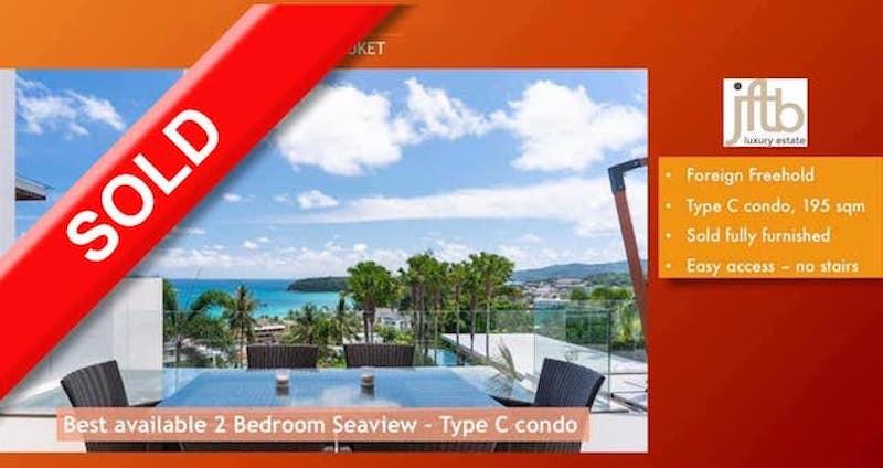 Picture Роскошная квартира с 3 спальнями и полным видом на море на продажу в Кате