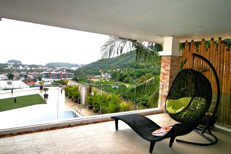 Photo Appartement 2 chambres et vue mer à vendre à Kata, Phuket, Thailande