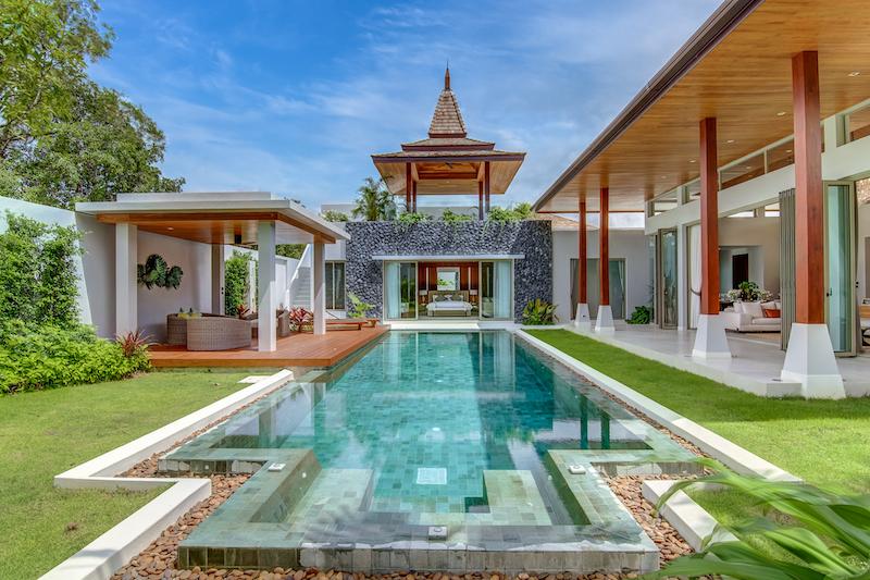 Photo Villa de luxe et moderne avec piscine à vendre à Layan avec une qualité de construction de premier ordre