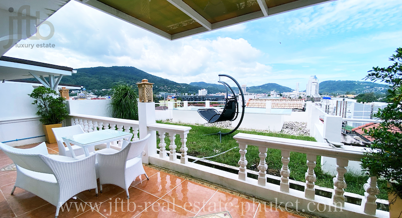 Picture  Patong Sea View Apartment with 1 Bedroom and Garden for rent in Phuket