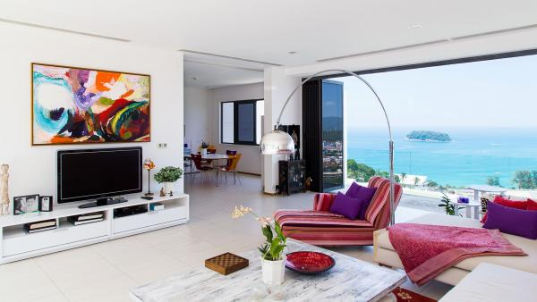 Picture Luxury Full Sea View Phuket condo for sale in Kata.
