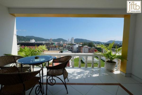 Picture  luxury sea view Patong studio apartment for rent in Phuket